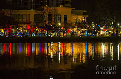 Downtown Huntsville Photograph - Christmas In Huntsville  by Joseph  Merrell