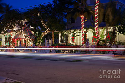 Photograph - Christmas In Key West by Anthony Morgan