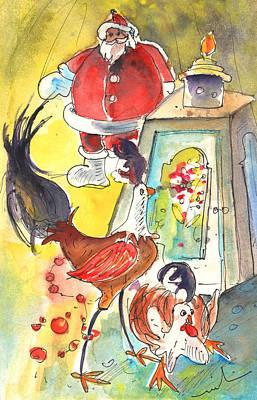 Lanzarote Painting - Christmas In Lanzarote 03 by Miki De Goodaboom