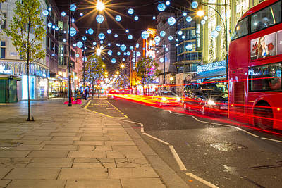 Photograph - Christmas In London by Andrew Lalchan