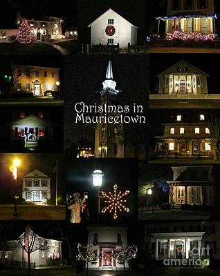 Photograph - Christmas In Mauricetown  by Nancy Patterson