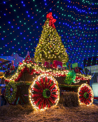 Photograph - Christmas In Natchitoches by Andy Crawford