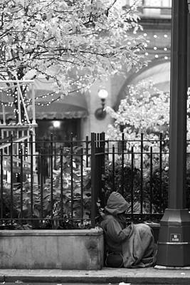 Photograph - Christmas In New York by Dave Beckerman