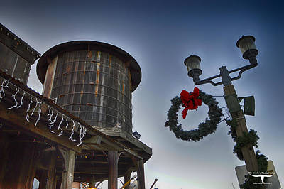 Christmas In Old Town Temecula 1 Art Print