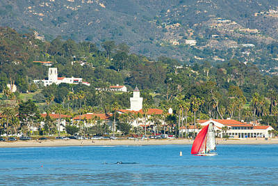 Santa Barbara California Art Print