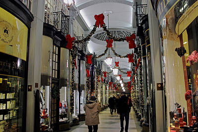 Photograph - Christmas In Piccadilly Arcade by Tony Murtagh