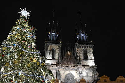 Martini Wall Art - Photograph - Christmas In Prague by Alberto Martini
