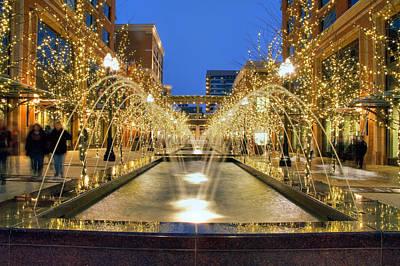 Photograph - Christmas In Salt Lake City Utah by Utah Images