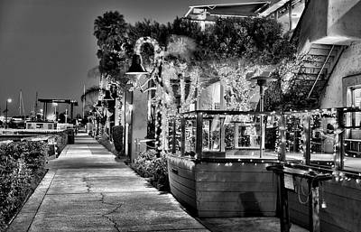 Photograph - Christmas In Ventura California 2 by Richard J Cassato