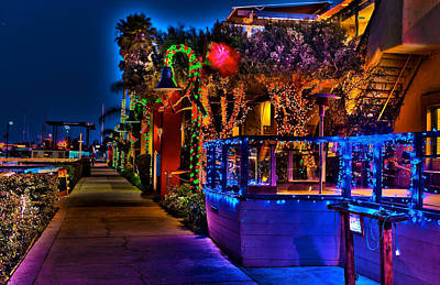 Photograph - Christmas In Ventura California by Richard J Cassato