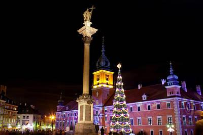 Christmas Holiday Scenery Photograph - Christmas In Warsaw by Artur Bogacki