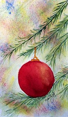 Painting - Christmas by Joan Zepf