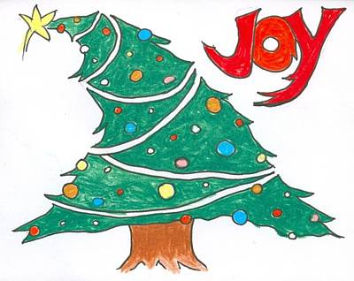 Drawing - Christmas Joy by Ralf Schulze