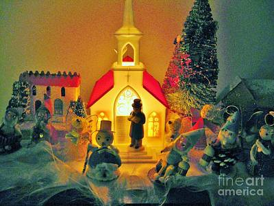 Photograph - Christmas by Judy Via-Wolff