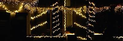 Photograph - Christmas Lights 2 12753 by Jerry Sodorff