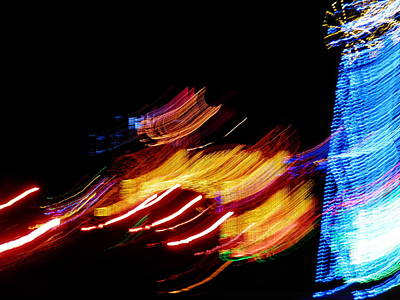 Digital Art - Christmas Lights by Angelia Hodges Clay