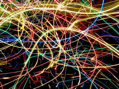 Christmas Lights Photograph - Christmas Lights by Catherine Leis