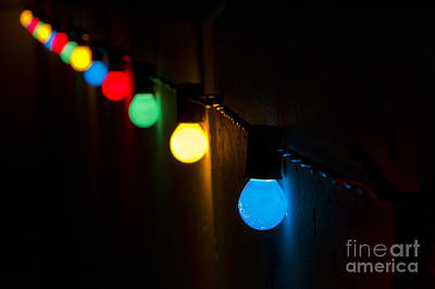 Photograph - Christmas Lights by Dennis Hedberg