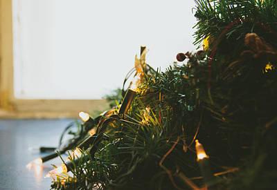 Modern Kitchen - Christmas Lights by Pati Photography