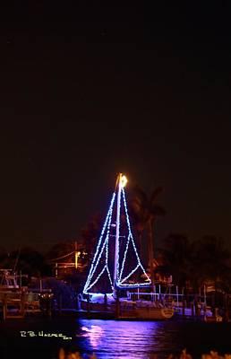 Photograph - Christmas Lights by R B Harper