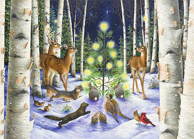 Painting - Christmas Magic by Lynn Bywaters