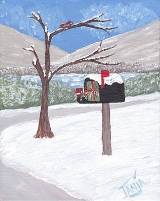 Painting - Christmas Mail Ll by Tanja Beaver