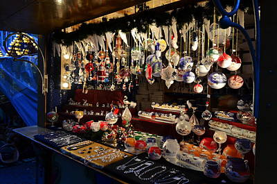 Photograph - Christmas Market In Germany by Barbara Walsh