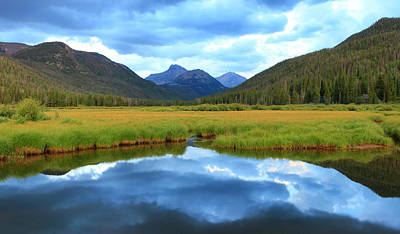 Photograph - Christmas Meadows In The Uinta Mountains. by Johnny Adolphson