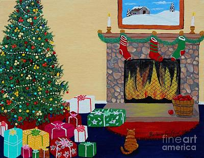 Christmas Memories Original by Barbara Griffin