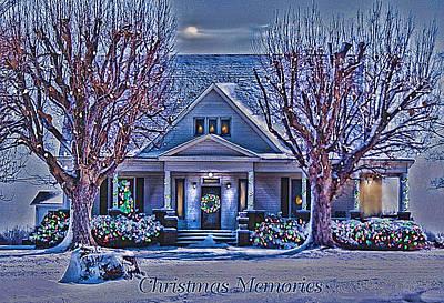 Christmas Memories Art Print by Bonnie Willis