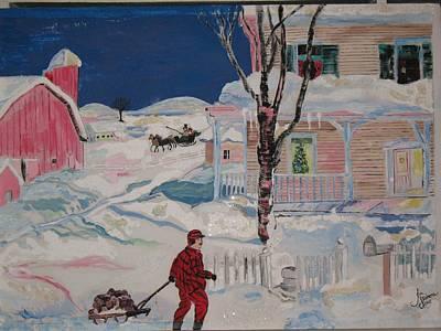 Homey Mixed Media - Christmas Memories by Jan Skidmore
