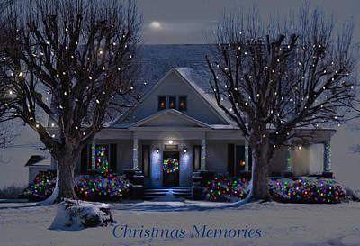Christmas Memories2 Art Print