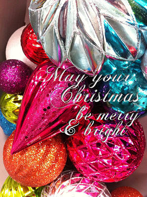 Photograph - Christmas Merry Bright by Robyn Stacey