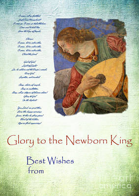 Photograph - Christmas Message by Brenda Kean