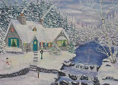 Painting - Christmas by Mike De Lorenzo