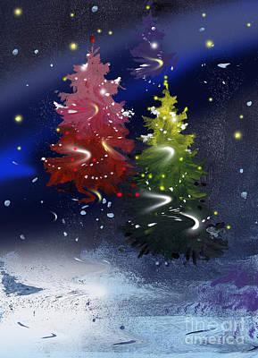 Painting - Christmas  by Natalia Eremeyeva Duarte