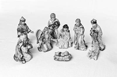 Photograph - Christmas Nativity II by Andy Crawford