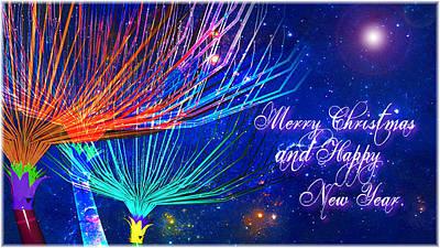 Digital Art - Christmas Night by Nato  Gomes