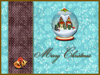 Christmas Card 13 Art Print