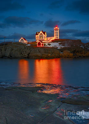 Christmas Nubble Art Print