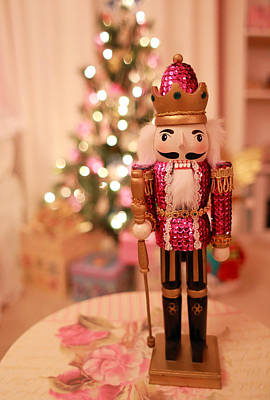 Photograph - Christmas Nutcracker by Barbara West