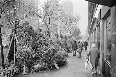Photograph - Christmas On 2nd Avenue by Dave Beckerman