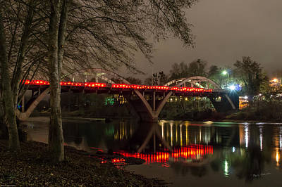 Photograph - Christmas On Caveman Bridge by Mick Anderson