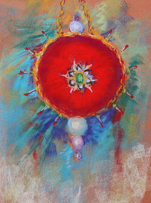 Painting - Christmas Ornament 1 by M Diane Bonaparte