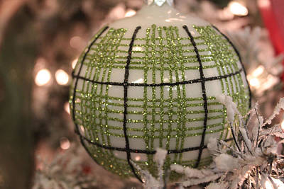 Art History Meets Fashion Rights Managed Images - Christmas Ornament Royalty-Free Image by Lynn Sprowl