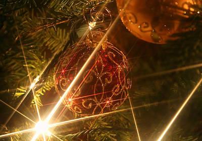 Photograph - Christmas Ornaments 1 by Ellen Henneke