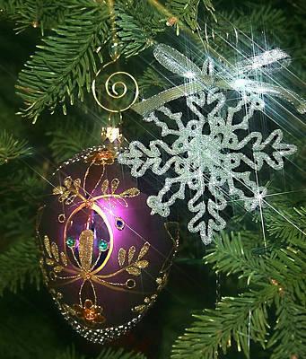 Photograph - Christmas Ornaments 2 by Ellen Henneke
