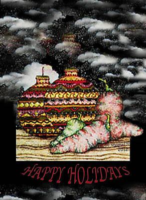 Amy Weiss - Christmas Ornaments by Dede Shamel Davalos