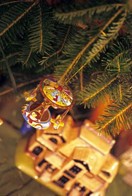 Christmas Ornaments IIi Art Print by Harold E McCray