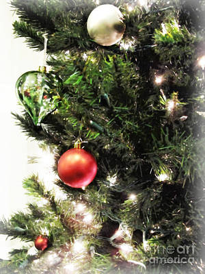 Photograph - Christmas Ornaments by Joan  Minchak
